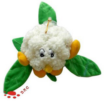 Cauliflower Shape Plush Vegetable toy